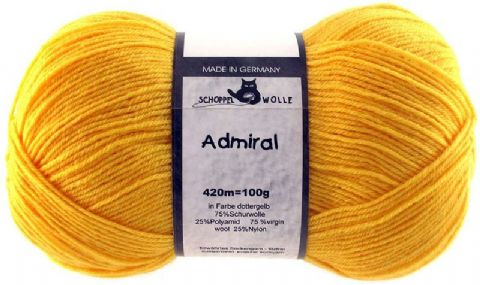 ADMIRAL bright yellow 0580